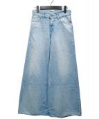R.H.Vintage(ロンハーマンヴィンテージ)の古着「デニムバギーパンツ」|インディゴ