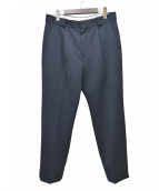 H BEAUTY&YOUTH(エイチビューティアンドユース)の古着「DOUBLE/CLOTH 1P TAPERED PANTS」