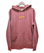 Finders KEEPERS(ファインダーズ キーパーズ)の古着「FK-EMBOROIDERED LOGO HOODY」|ボルドー