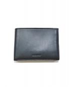 JIL SANDER(ジルサンダー)の古着「2つ折り財布」|ブラック