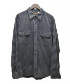 WACKO MARIA(ワコマリア)の古着「ストライプシャツ」|ブラック