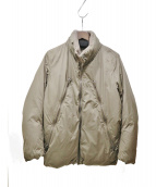 Martin Margiela14(マルタンマルジェラ14)の古着「八の字ダウンジャケット」|ブラウン