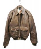 AVIREX(アヴィレック)の古着「A-2レザージャケット」
