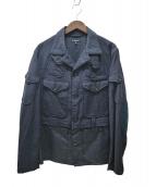 Engineered Garments(エンジニアードガーメンツ)の古着「12ポケットエルボーパッチジャケット」|ネイビー