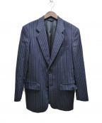 UMIT BENAN(ウミットベナン)の古着「ストライプジャケット」|ネイビー