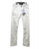 JACOB COHEN(ヤコブコーエン)の古着「デニムパンツ」|ホワイト