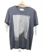 Maison Margiela 10(メゾン マルジェラ 10)の古着「プリントTシャツ」 グレー