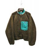 Patagonia(パタゴニア)の古着「レトロXフリースジャケット」|グリーン×カーキ