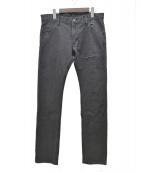 STRUM(ストラム)の古着「12ozデニムパンツ」|ブラック