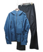 MAMMUT(マムート)の古着「CLIMATE RAIN SUITS」|ネイビー