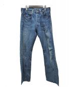 LEVIS VINTAGE CLOTHING(リーバイス ヴィンテージ クロージング)の古着「1947モデルデニムパンツ」|ブルー