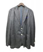 vicomte A.(ヴィコント アー)の古着「コットンリネンテーラードジャケット」|グレー