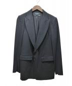DIESEL BLACK GOLD(ディーゼルブラックゴールド)の古着「テーラードジャケット」|ブラック
