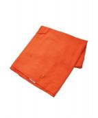 Maison Margiela 10(メゾン マルジェラ 10)の古着「ストール」|オレンジ