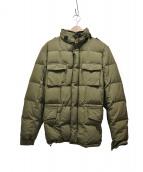 ASPESI(アスぺジ)の古着「M65ダウンジャケット」|オリーブグリーン
