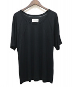 Maison Margiela 4(メゾンマルジェラ4)の古着「デザインステッチTシャツ」|ブラック