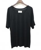 Maison Margiela 4(メゾンマルジェラ4)の古着「デザインステッチTシャツ」 ブラック