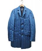 FIDELITY(フィデリティ)の古着「別注ダウンインディゴチェスターコート」|ブルー