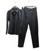 FENDI JEANS(フェンディージーンズ)の古着「ズッカ柄セットアップ」|ブラック