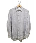 UNUSED(アンユーズド)の古着「side slit shirt」|グレー