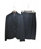 GUCCI(グッチ)の古着「2Bスカートスーツ」|ブラック