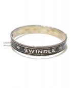 END(エンド)の古着「SWINDLE BANGLE」|シルバー×ブラック