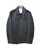 PHIGVEL(フィグベル)の古着「Pコート」 ブラック