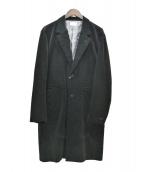 ATELIER BETON(アトリエ ベトン)の古着「コーデュロイチェスターアトリエコート」|ブラック
