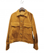 NOLLEYS(ノーリーズ)の古着「19AW親子コールショートジャケット」 ブラウン