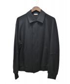 Calvin Klein(カルバンクライン)の古着「ウールリヨセルボンディングジャケット」|ブラック