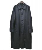 tricot COMME des GARCONS(トリコ コム デ ギャルソン)の古着「ステンカラーコート」 ブラック