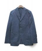 OFFICINE GENERALE(オフィシンジェネラル)の古着「コットンリネンインディゴジャケット」|インディゴ