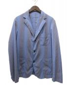 BALLANTYNE(バランタイン)の古着「シアサッカー3Bジャケット」|ネイビー