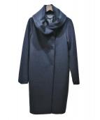 ROSSO(ロッソ)の古着「ガウンフードコート」|ネイビー