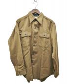 MADISON BLUE(マディソンブルー)の古着「ハンプトンウールシャツ」|ブラウン