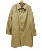 MARMOT(マーモット)の古着「GORE-TEXステンカラーコート」|ブラウン
