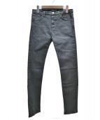BALENCIAGA(バレンシアガ)の古着「スキニーデニムパンツ」 ブラック