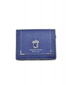 Samantha Thavasa PETIT CHOICE(サマンサタバサプチチョイス)の古着「3つ折り財布」|ネイビー