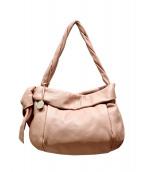 FURLA(フルラ)の古着「レザーワンショルダーバッグ」 ピンク