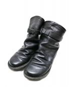 Trippen(トリッペン)の古着「BOMBレザーブーツ」|ブラック