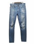Denham(デンハム)の古着「RAZOR GRWFデニムパンツ」 インディゴ