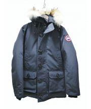 CANADA GOOSE(カナダグース)の古着「ブルックフィールドパーカーJKT」 ネイビー