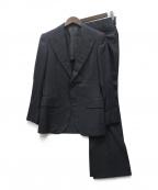 SOVEREIGN(ソブリン)の古着「ストライプ2Bスーツ」|ネイビー