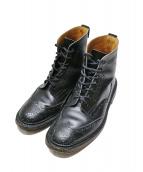 Trickers(トリッカーズ)の古着「カントリーブーツ」|ブラック