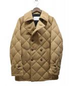 PRINGLE1815(プリングル エイティーンフィフティーン)の古着「キルティングダウンPコート」|ブラウン