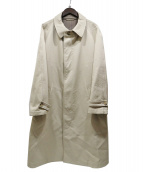NEHERA(ネヘラ)の古着「サイドジッパーオーバーサイズコート」|ベージュ