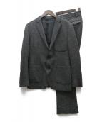 ()の古着「カットオフジャージーツイードセットアップ」|ブラック