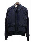 N.HOOLYWOOD(エヌハリウッド)の古着「コットンギャバA-2ジャケット」|ネイビー