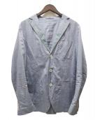 PAOLONI(パオローニ)の古着「SHIRT JACKET」|ブルー