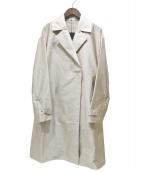 COMME CA(コムサ)の古着「洗えるチェスターライトコート」|ベージュ